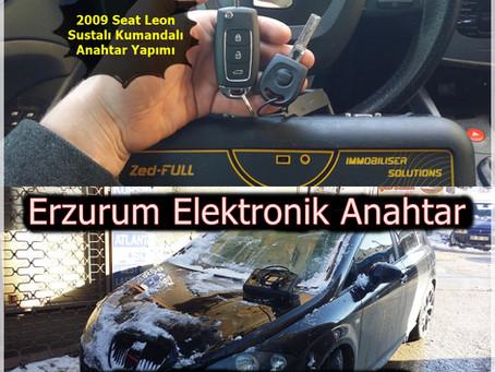 2009 Seat Leon Sustalı Kumandalı Anahtar Yapımı