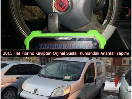 2011 Fiat Fiorino Kayıptan Orjinal Sustalı Kumandalı Anahtar Yapımı