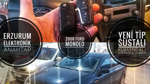 2008 Ford Mondeo Yeni  Tip Sustalı Kumandalı Anahtar Yapımı