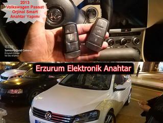 2013 Volkswagen Passat Orjinal Smart Anahtar Yapımı