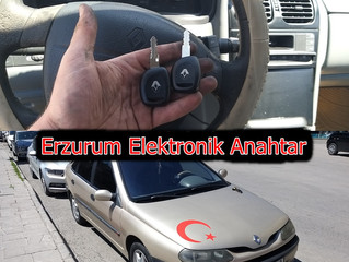 2001 Renault Laguna Kayıptan İmmobilizer Anahtar Yapımı