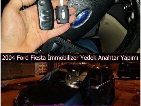 2004 Ford Fiesta İmmobilizer Yedek Anahtar Yapımı