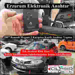 2007 Renault Megane 2 Kayıptan Kartlı Anahtar Yapımı