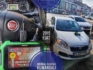 2015 Fiat Linea Orjinal Sustalı Kumandalı Anahtar Yapımı