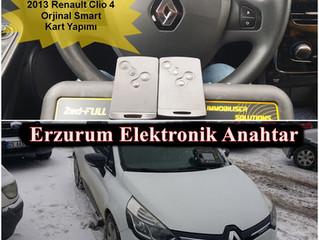 2013 Renault Clio 4 Orjinal Smart Kart Yapımı
