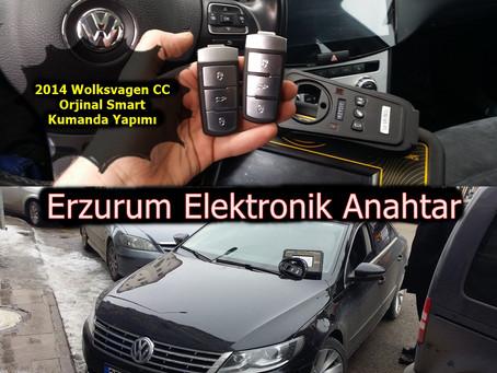 2014 Volkswagen CC Orjinal Smart Kumanda Yapımı