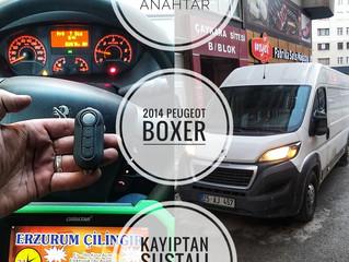 2014 Peugeot Boxer Kayıptan Sustalı Kumandalı Anahtar Yapımı