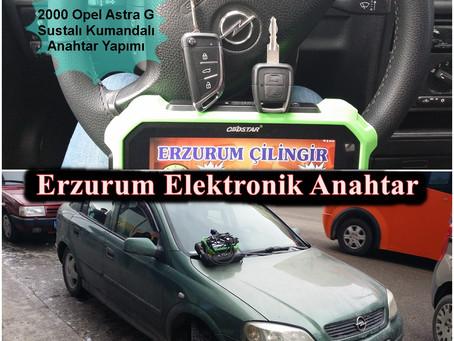2000 Opel Astra G Sustalı Kumandalı Anahtar Yapımı