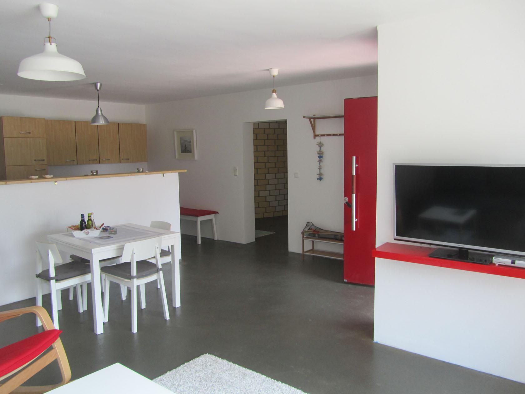 Wohnzimmer/Küche Ostwohnung