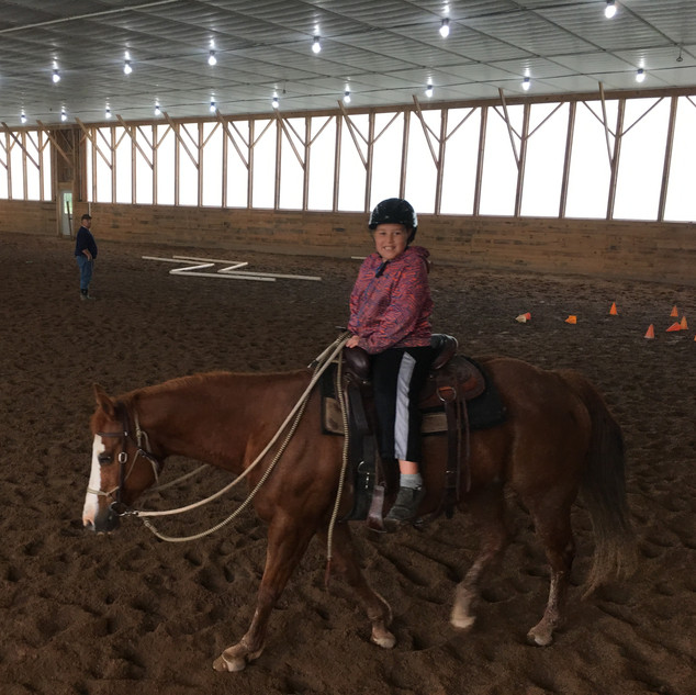 Indoor riding