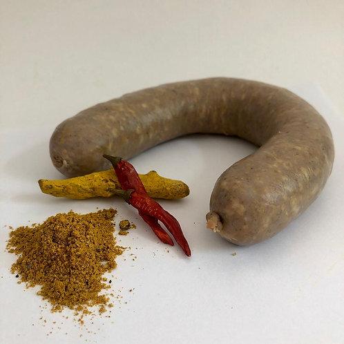 Worst met garam masala  - bok