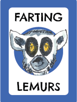 FARTING LEMURS CARD GAME
