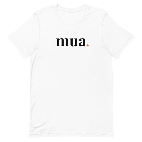 White Shirt with Black Lettering