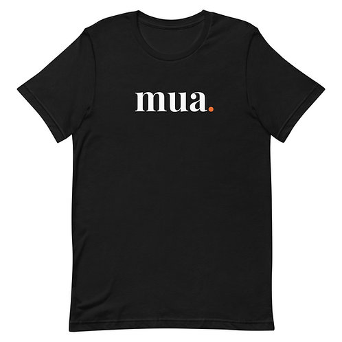 Black Shirt with White Lettering