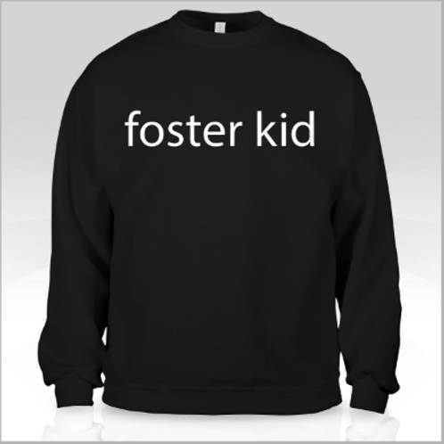 Black Foster Kid Sweater