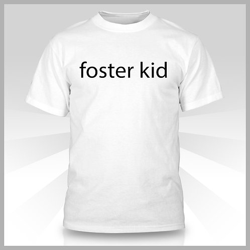 Foster Kid White T-Shirt