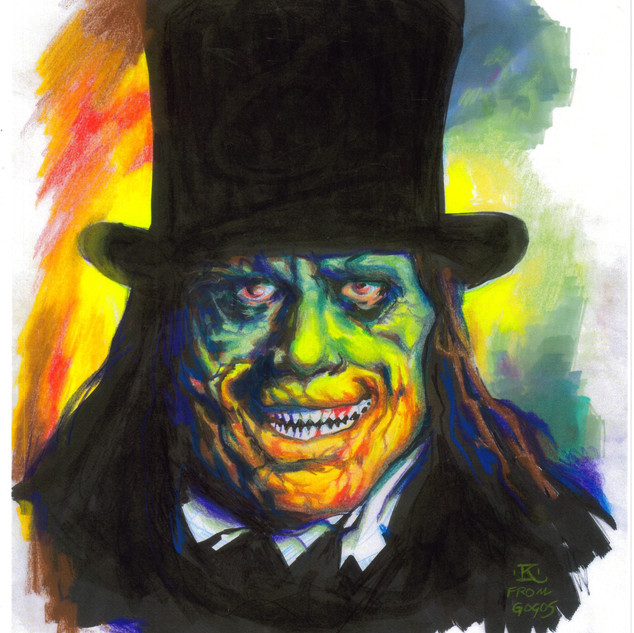 London After Midnight after Gogos