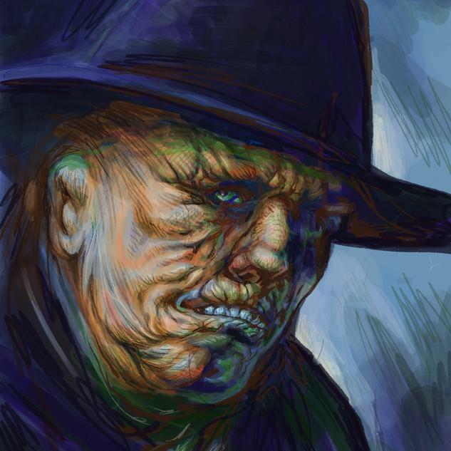 The Shrivelled Man