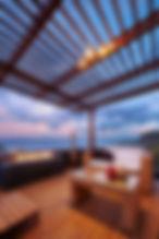 Interior design_ Beautiful modern terrac