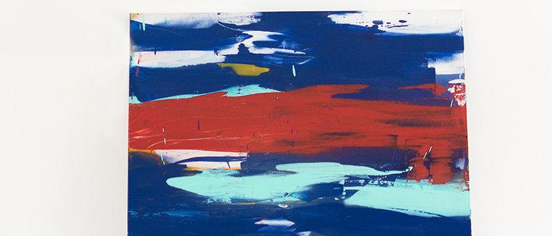 Abstract Intense Blue II