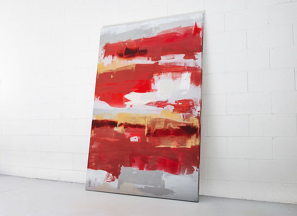 Abstract Deep Red - I