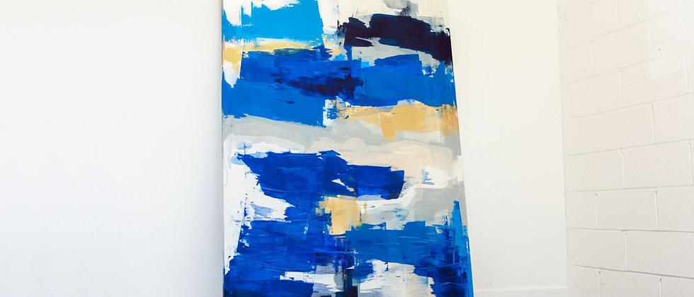 Abstract Deep Blue - II
