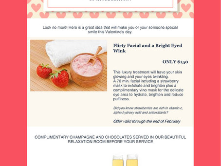 Take a Look At Our Valentine's Treats