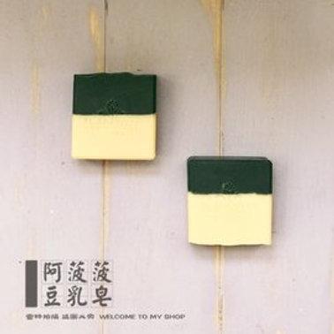【經典】黑與白豆乳皂 #油性 #備長炭 #豆漿皂