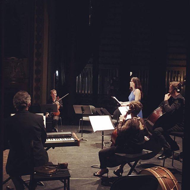 #lovemyjob #opera #spinosi #theatremorlaix #monteverdi #sidolceèiltormento #ensemblematheus #soprano