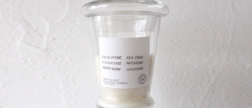 EUCALYPTUS-TEA TREE-FRANKINCENSE-PATCHOULI-LEMONGRASS-JUNIPER BERRY