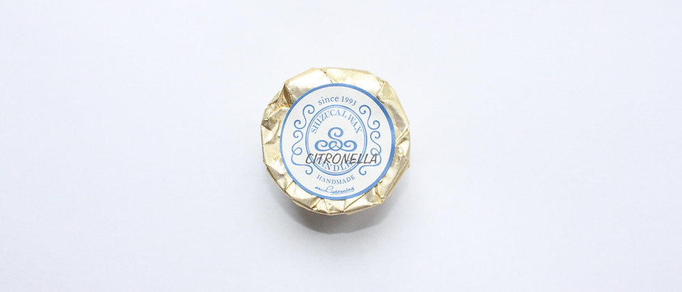 AROMA TEA LIGHT CANDLE : CITRONELLA