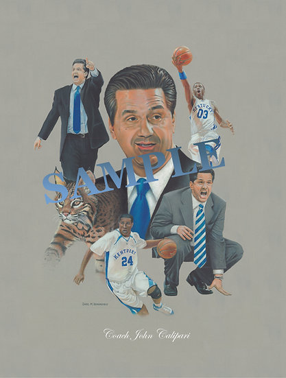 Coach John Calipari Limited Edition of 150