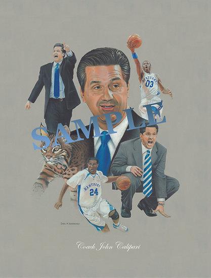 Coach John Calipari Limited Edition of 800