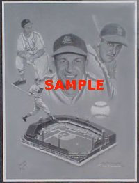 "Stan ""The Man"" Musial Artist Proof"