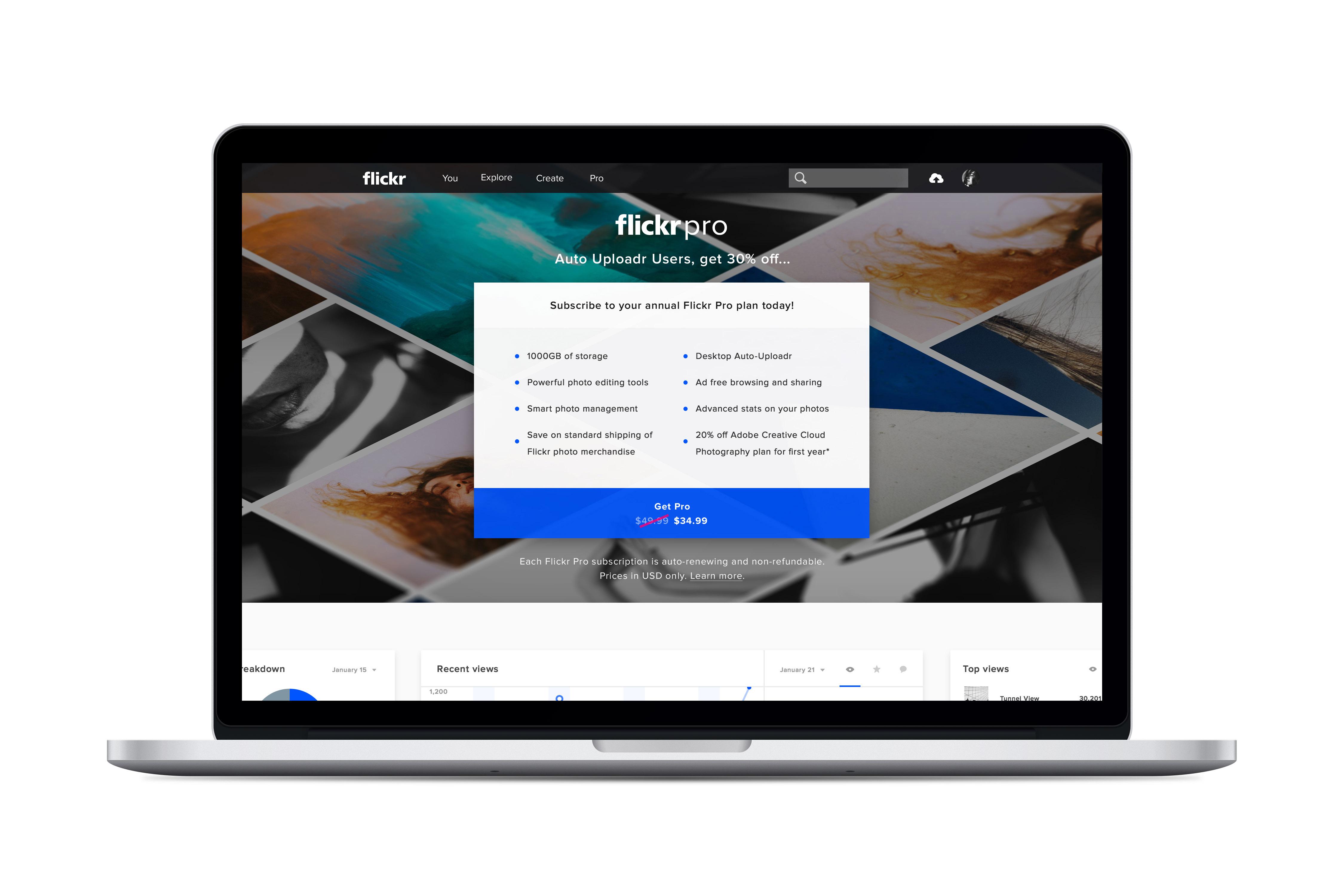 Pro Auto Uploadr Landing Page