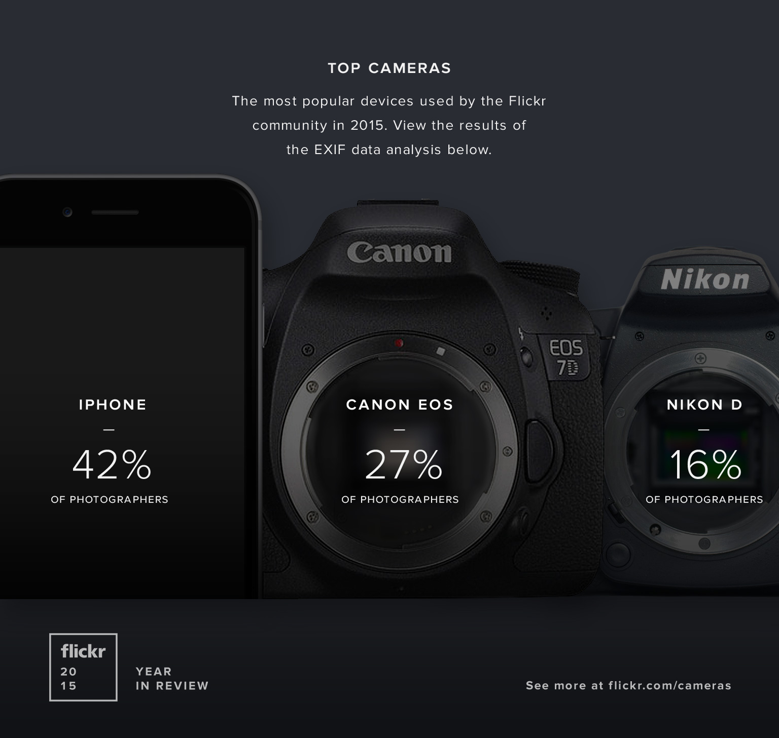 Flickr Year In Review Cameras