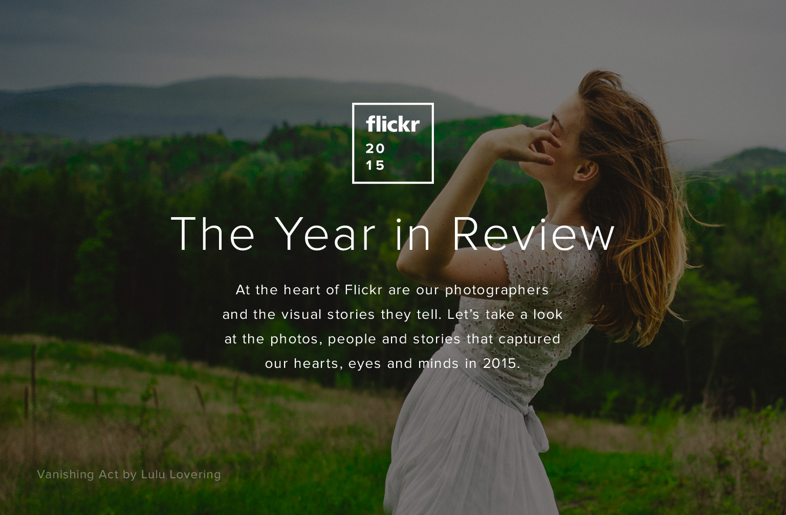 Flickr Year In Review Masthead