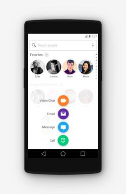 Yahoo Smart Comms Message Selector