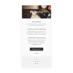 Service Email — Pro Users Only
