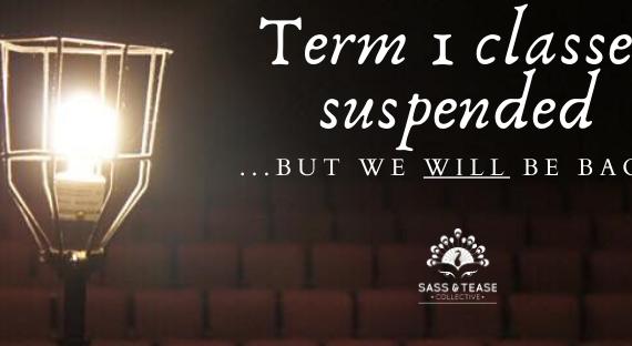 Term 1 classes suspended
