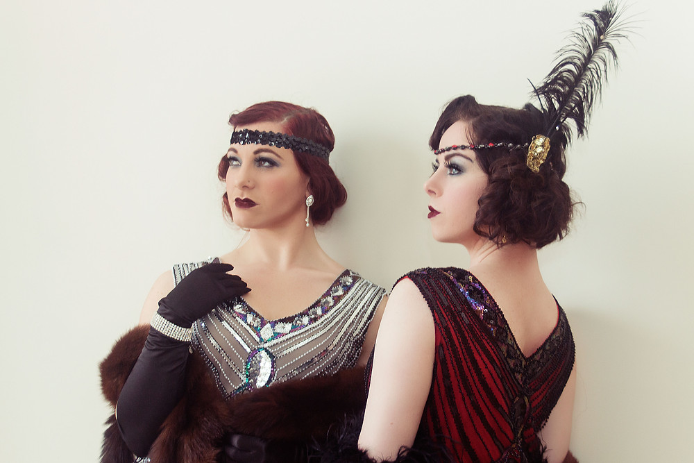 The Ballet School Dropouts Trillian and Dahlia Dangerous. Photography by Kelly Sinsli
