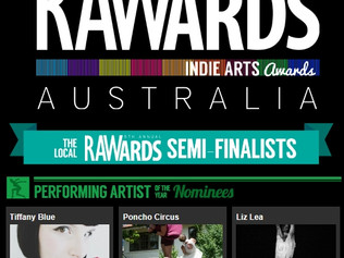 Tiffany Blue: Semi Finalist in the RAWards Performing Art Category for Canberra