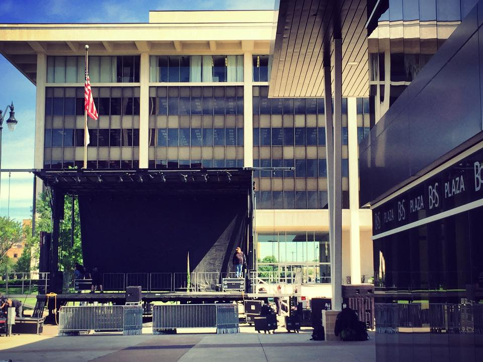 Plaza Stage