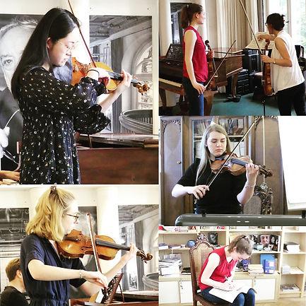 Meisterkurs Violine bei Hellen Weiß