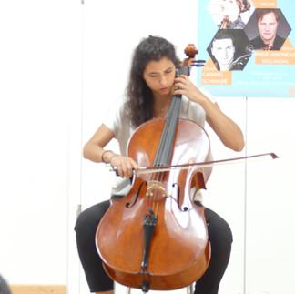 Benedetta Baravelli, Violoncello