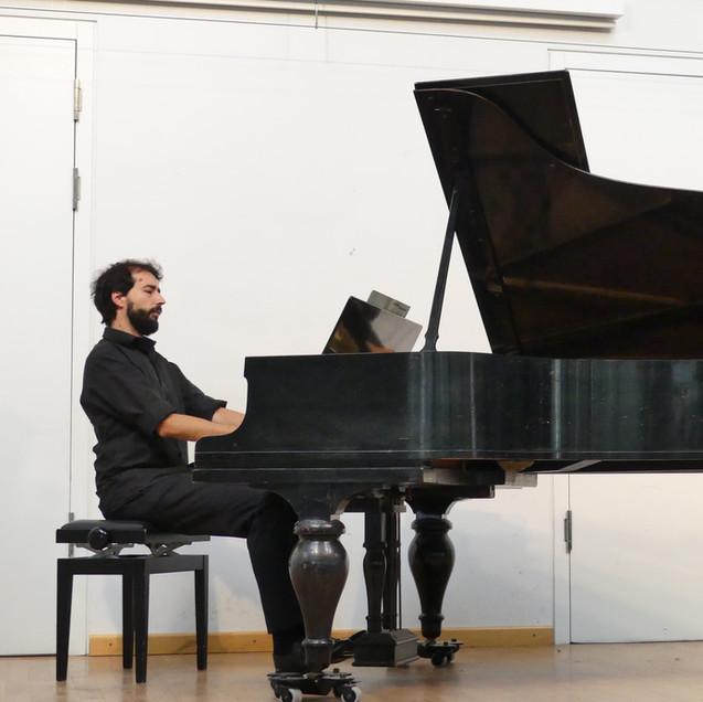 Nikolaus Resa, Klavier