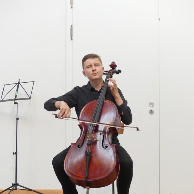 Carl Silberbach, Violoncello