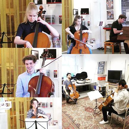 Meisterkurs Violoncello bei Gabriel Schw