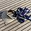 Thumbnail: Visor cap ikat ultramarine