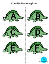 Printable Alphabet Activity